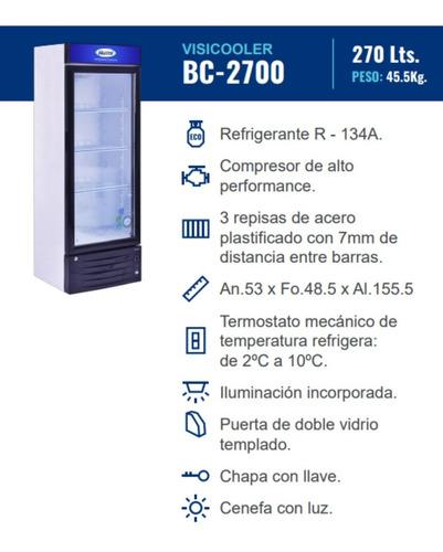 ilumi exhibidora conservadora congeladora vitrina 250litros