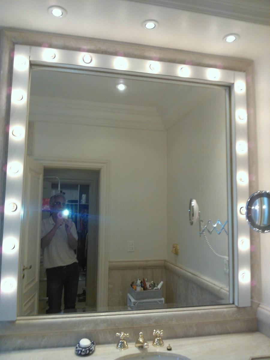 Ilumina\u00e7ao De Banheiro Tipo Camarim Para Maquiagem5 - R$ 160,00 em Mercado Livre