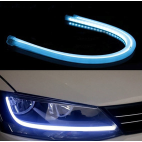 9bf55cc8f Barra Flexivel Led Angel Eyes Azul - Acessórios para Veículos no ...