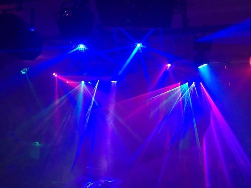 iluminación americanpro beamtec led6124 activación p/ sonido