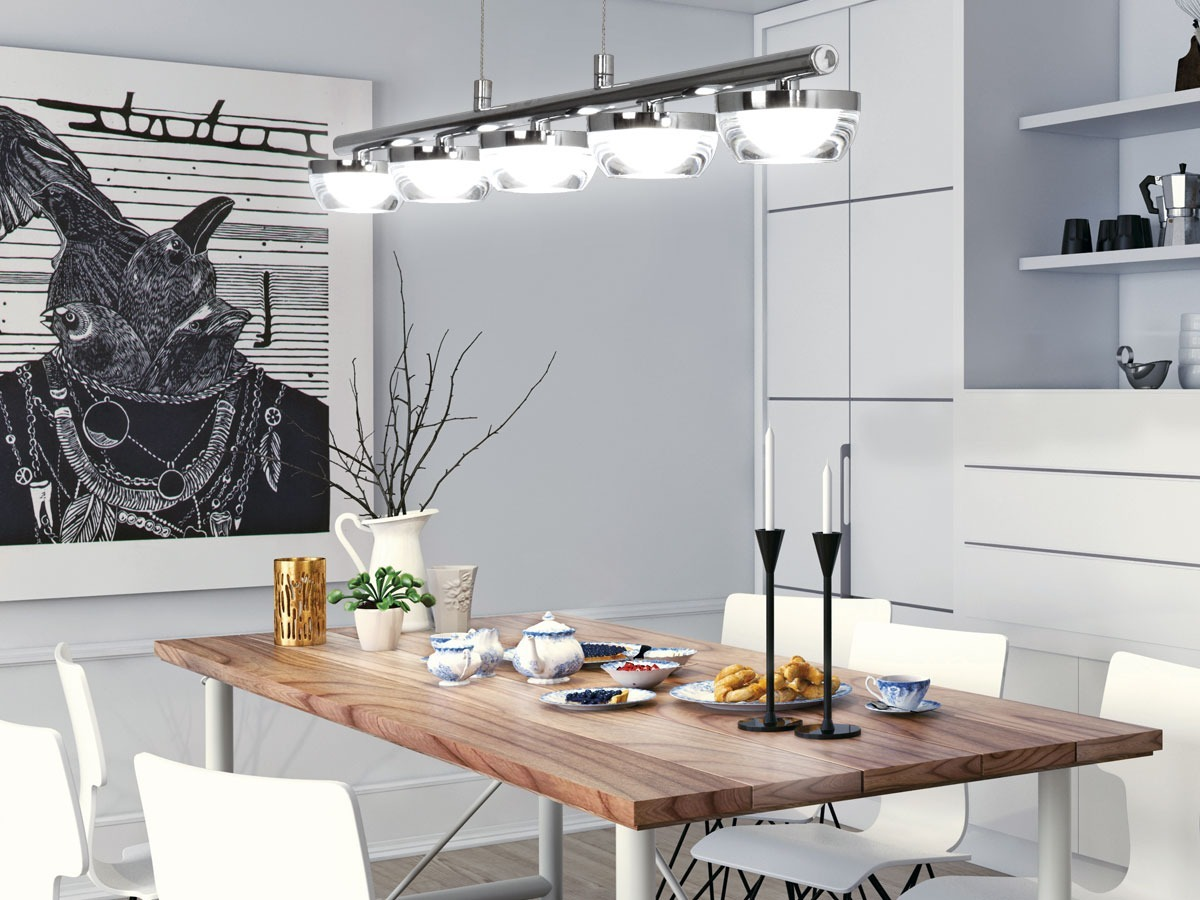 Iluminacion Colgante Moderno Led Diseño Living Comedor Dab