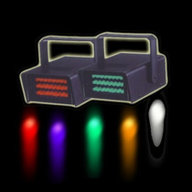 Luz Flash Intermitente Led Para Discoteca Bar Fiesta