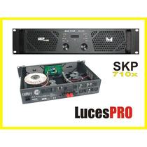 Potencia Skp Max 710x 350+350rms En 4ohm Discotecas