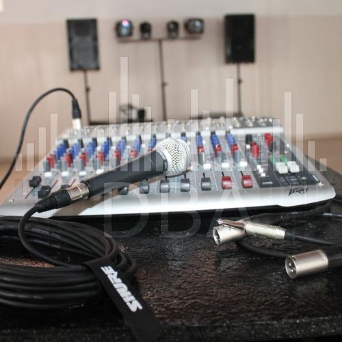 iluminación eventos djs, sonido