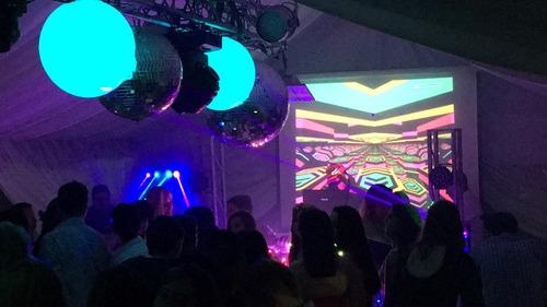 iluminación eventos sonido