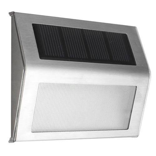 iluminacion exterior panel solar l10b 2 pcs led energia