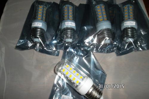 iluminacion lamparas led tipo mazorca 7 watt.