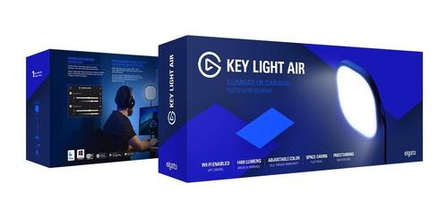 iluminación led elgato key light air streaming mastil wifi