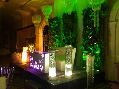 iluminación led para eventos