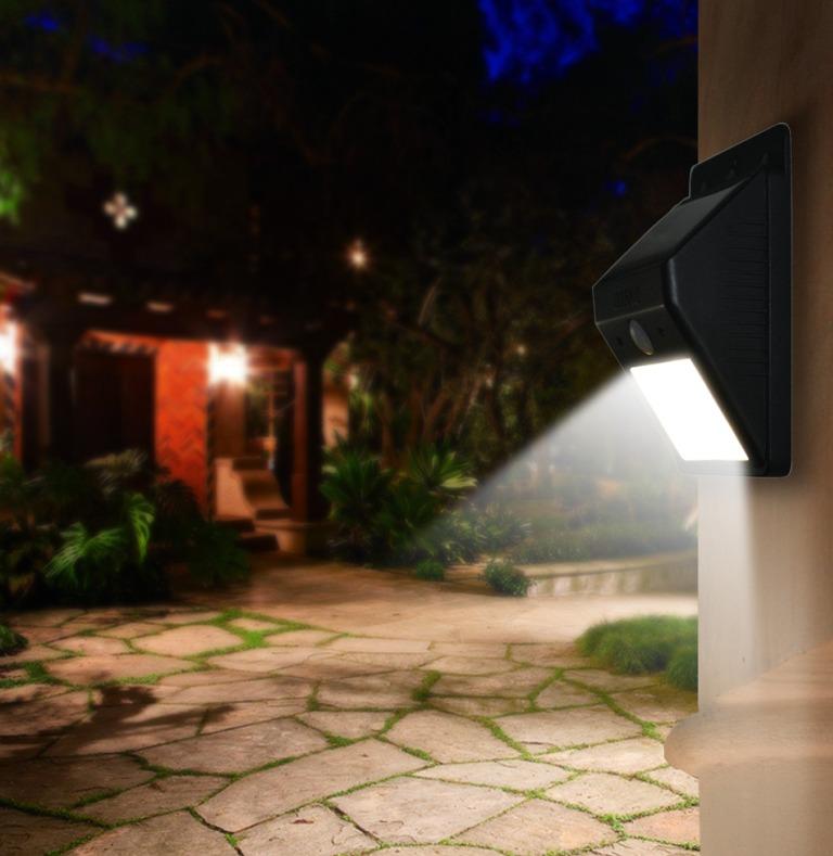 Iluminacion solar de leds arbotante sl 09p solarcia for Iluminacion solar de jardin