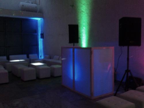 iluminacion sonido fiesta