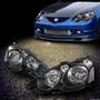 Opticos Negros Honda Integra Dc5