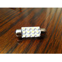 Ampolleta Luz Interior Auto Plafonier Cortesia 39 Mm 12 Led