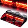 Baliza De Parabrisas Federal Signal Viper S2 Rojo/rojo Nueva