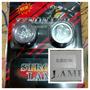Luz Strobo 1 Led Ojo Borde Metal Rojo Moto Set X 2 Pcs Blist