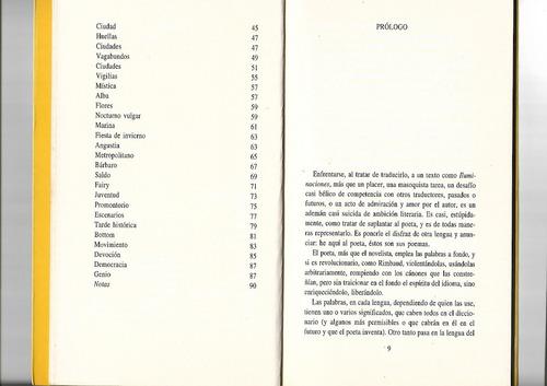 iluminaciones - arthur rimbaud - bilingue