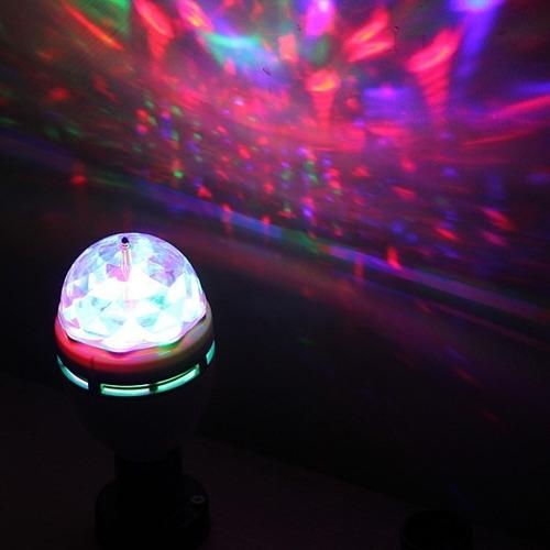 iluminação de festa com efeito giratório com luz de led