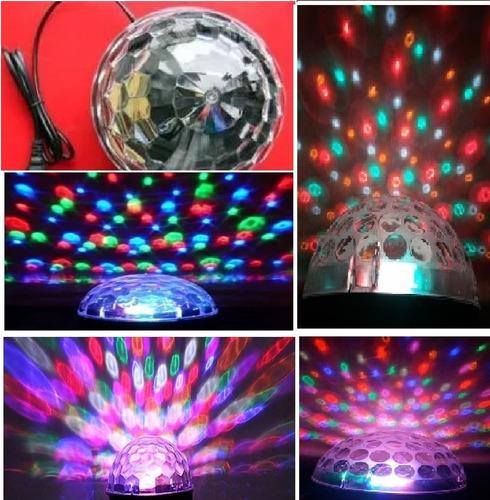 iluminação dj bola maluca rgb jogo de luzes led festa strob