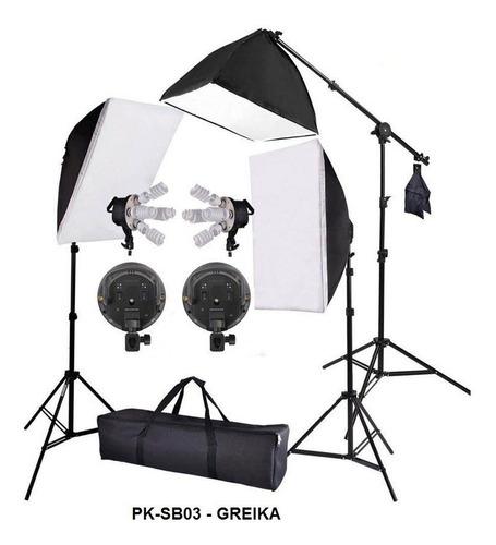 iluminação estudio kit