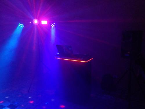 iluminação festas som