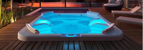 iluminação led banheira spa ofurô cromo cromoterapia sinapse