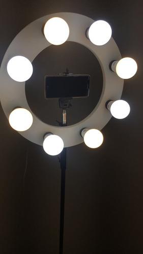 iluminação ring light 8 fotos videos menor preço promoção