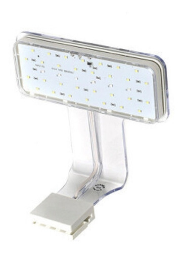 iluminador atman cx-lp luz led luna azul blanca 40-50cm poly
