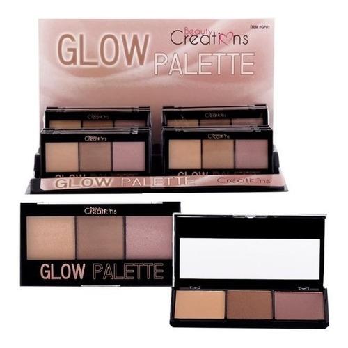 iluminador glow palette. beauty creation - g a $244