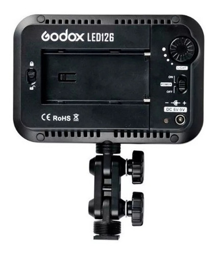 iluminador led godox 126  pilas o batería recargable