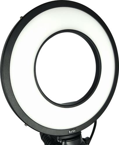 iluminador led ring light - 25w - 6000k - lunix - lançamento