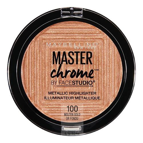 iluminador maybelline master chrome x 6.7g