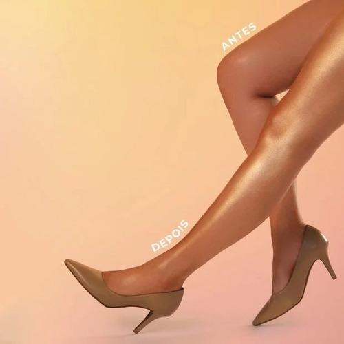 iluminador pernas maravilhosas brilho dourado