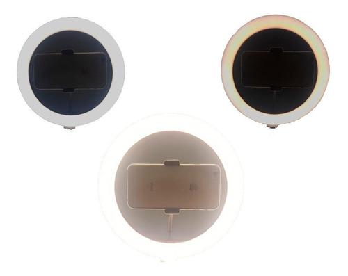 iluminador ring ligth anel luz 26cm mak fotos com tripé 1.20