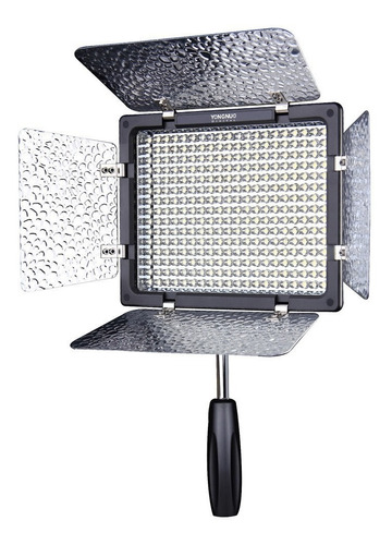 iluminador yongnuo yn300iii 3200 5500k camara foto video led
