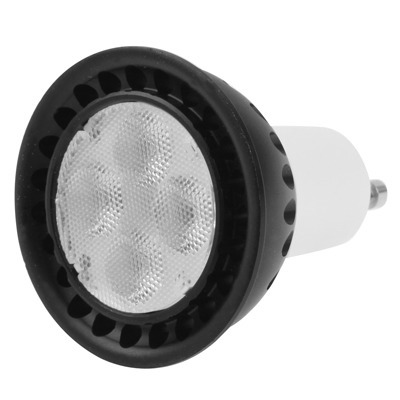 iluminar lampara gu10 5w blanco calido 4 cree 85-265v
