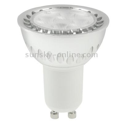 iluminar lampara gu10 5w blanco calido 4 cree proyector
