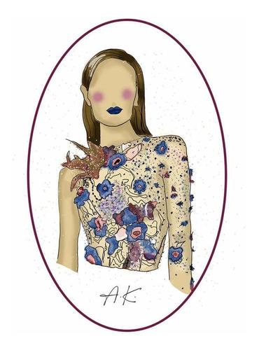 ilustración digital para regalo