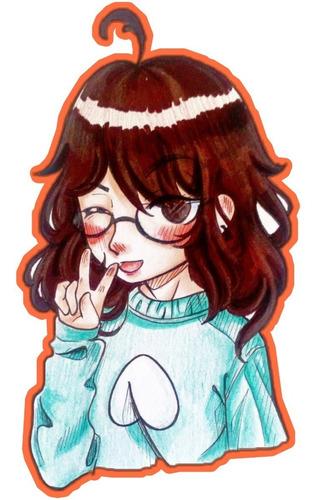 ilustraciones dibujo afiche animes