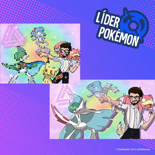 ilustraciónes pokémon