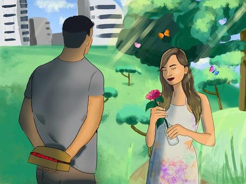 ilustração digital personalizada