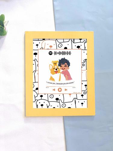 ilustração personalizada para quadros