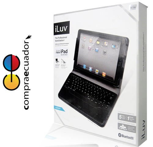 iluv estuche protector teclado para new ipad bluetooth cover