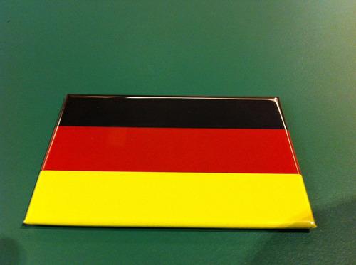 ímã da bandeira da alemanha