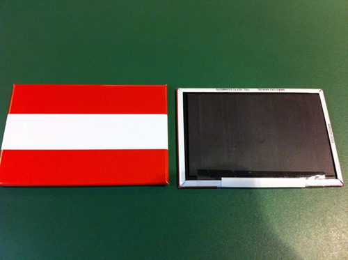 ímã da bandeira da áustria