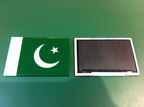 ímã da bandeira do paquistão