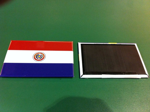 ímã da bandeira do paraguai
