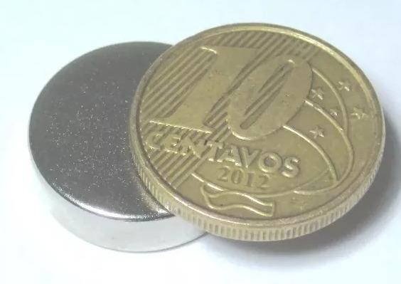 046591db184 Imã De Neodímio 18mm X 5mm Geradores Energia Eólico 5 Peças - R  49 ...