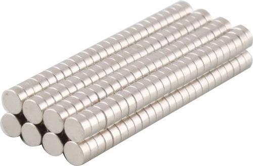 imã de neodímio 50 peças / super forte / 3mm x1mm