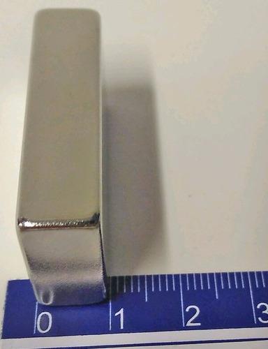 imã de neodímio n45 40mm x 20mm x 10mm - 4pçs super forte
