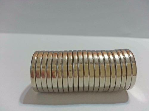 imã de neodímio / super forte / 18mm x 2mm * 5 peças *